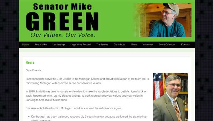 mikegreenforsenate